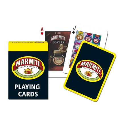Marmite Playing Cards by Gibsons